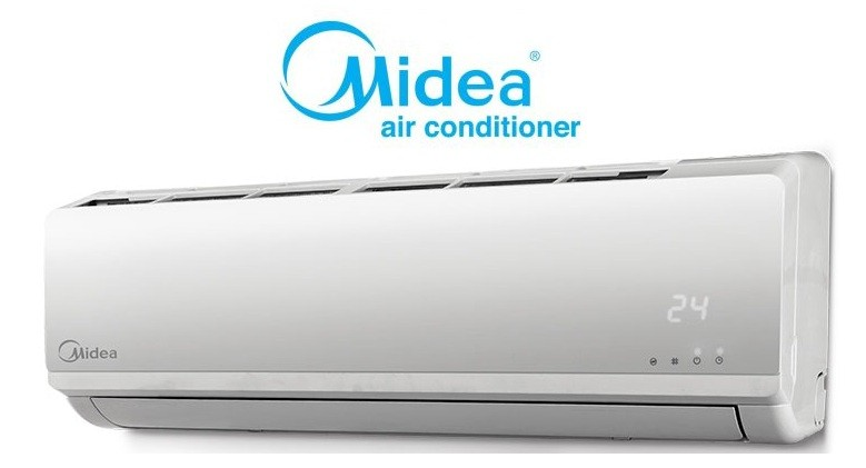 midea air conditioning units installed